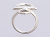 Hermès Medium Sterling Silver Mors de Bride Ring