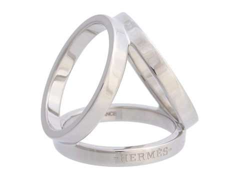 Hermes Trio Scarf Ring