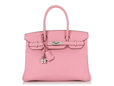 Hermès Bubblegum Pink Swift Birkin 30
