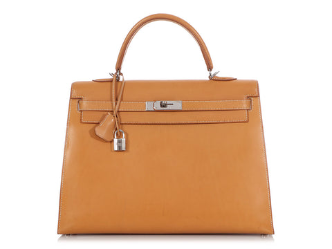 Hermès Vache Natural Kelly 35