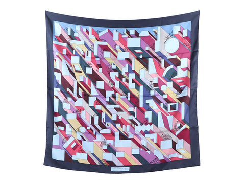 Hermès On A Summer Day Silk Scarf 90cm