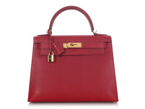 Hermès Ruby Epsom Kelly 28