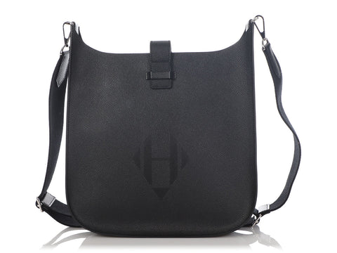 Hermès Black Epsom Evelyne Sellier 29