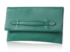 Hermès Malachite Pliplat Envelope Clutch