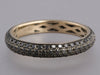 Black Pavé Diamond Eternity Ring