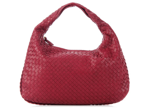 Bottega Veneta Medium Dark Red Veneta