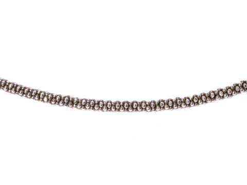 Lagos Sterling Beaded Chain Necklace