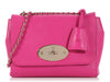 Mulberry Pink Lily Chain Flap