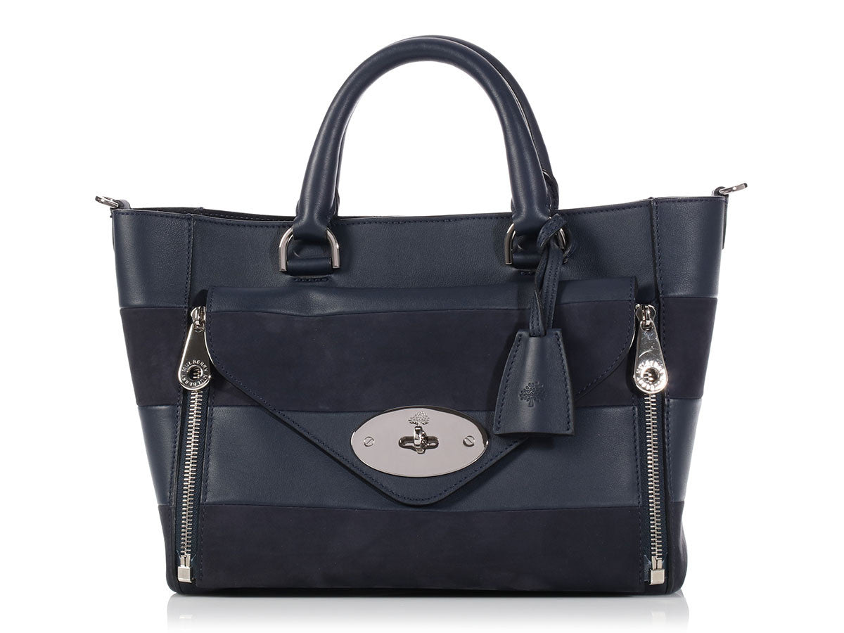 Mulberry Midnight Willow Tote