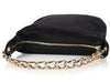 Chanel Small Black Satin Evening Bag