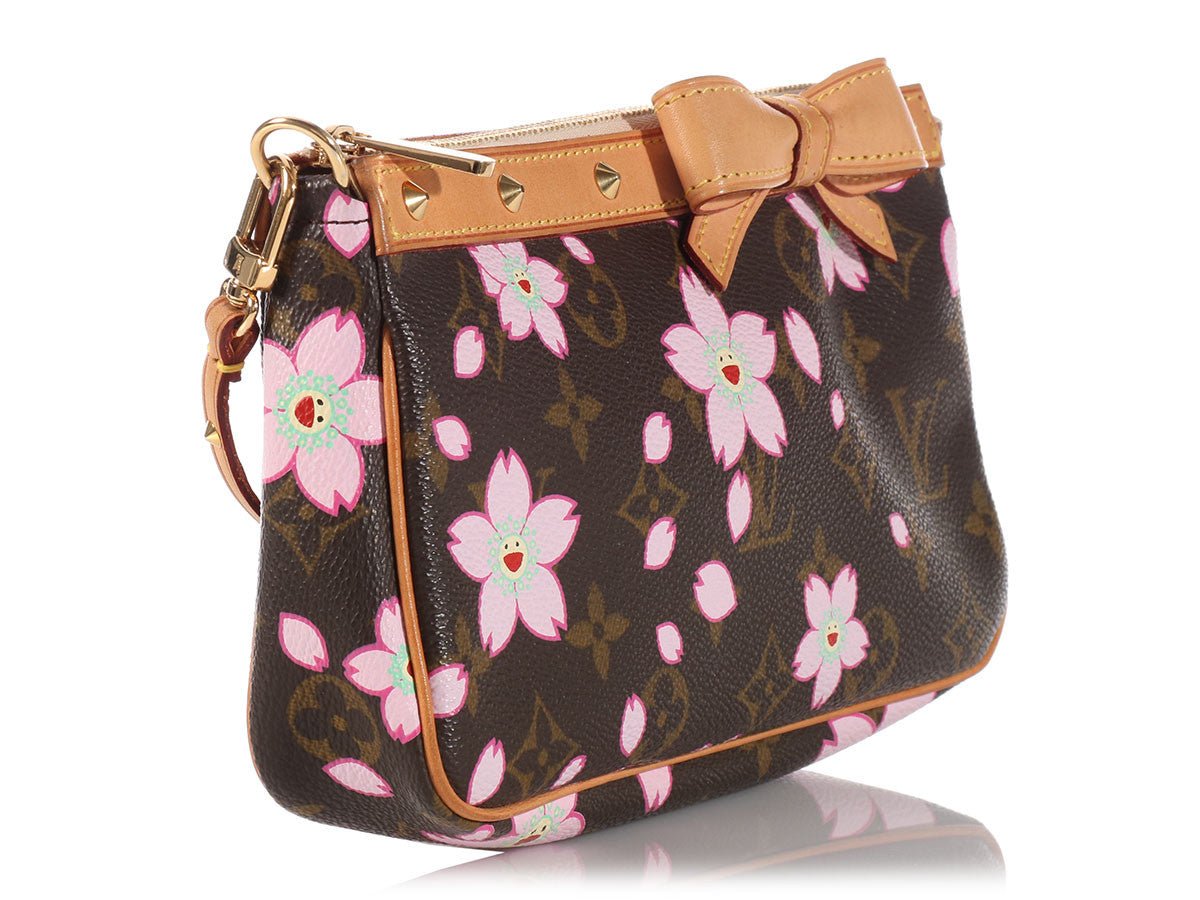 b25d2711dc8 Louis Vuitton Cherry Blossoms Pochette Accessories
