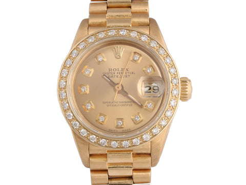 Rolex Ladies Oyster Perpetual Datejust