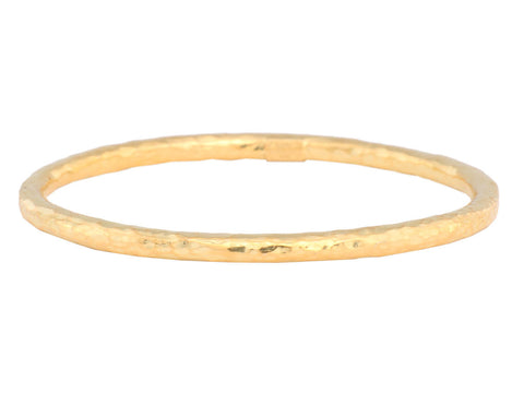 Ippolita Thin Hammered Glamazon Bangle