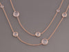 Ippolita Rose Gold Long Station Necklace