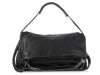 Jimmy Choo Large Black Biker Shoulder Bag
