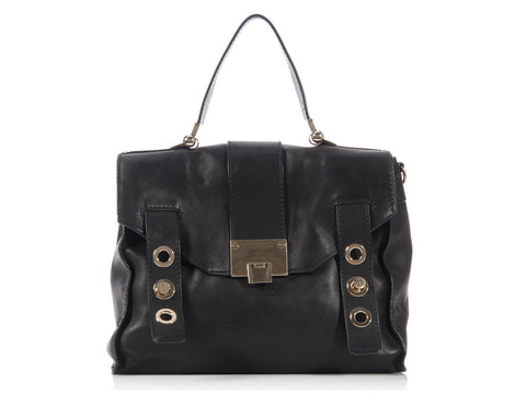 Jimmy Choo Black Pauline Bag