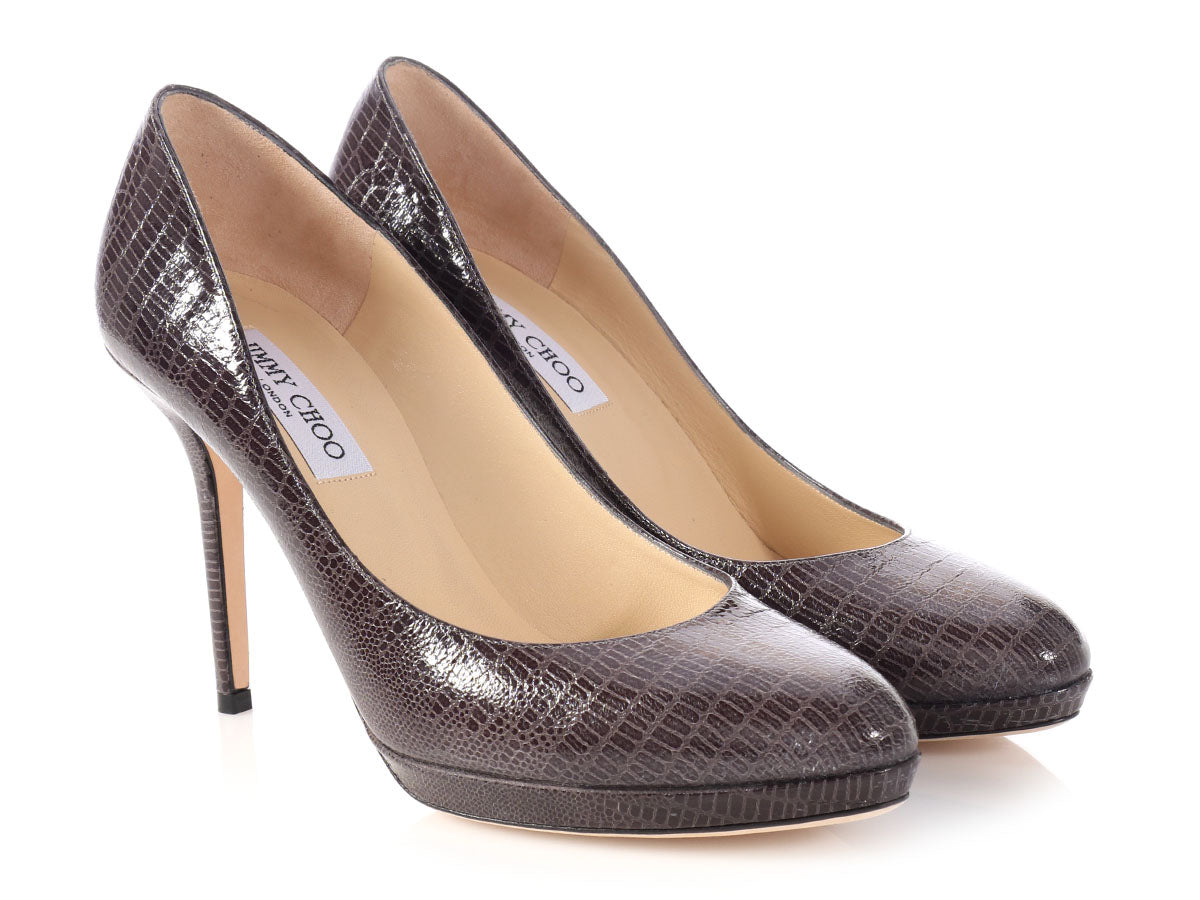 Jimmy Choo Embossed Platform Pumps clearance comfortable cheap for cheap lqPAeK