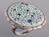 John Hardy Blue Topaz Lavafire Sea Ring