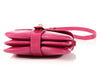 Kieselstein-Cord Pink Alligator Head Trophy Bag