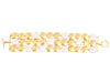Karen Mitchel Yellow Gold and Pearl Bracelet