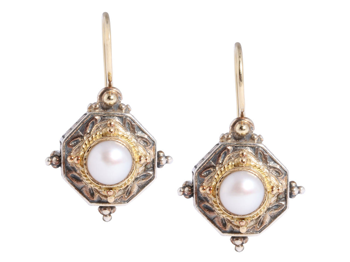 Konstantino Pearl Drop Earrings