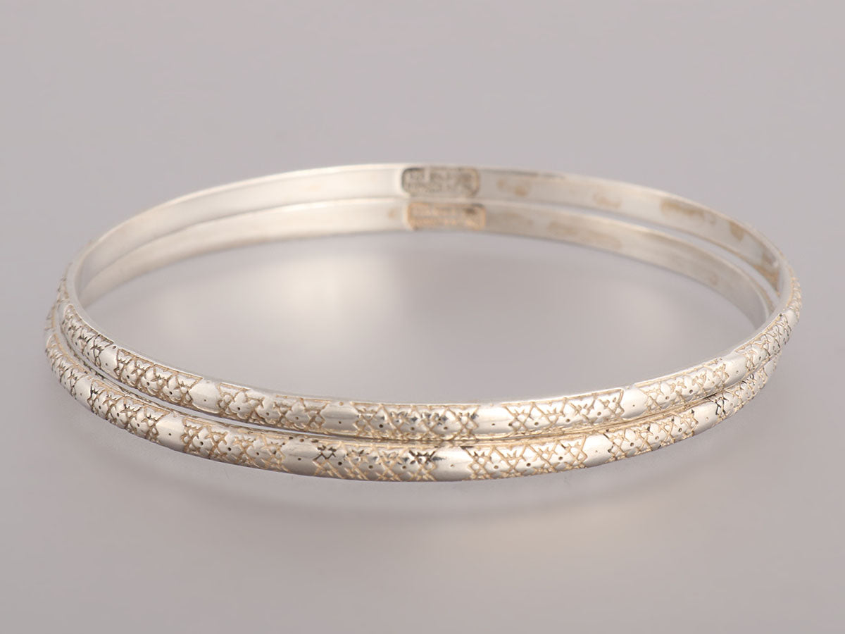 Konstantino Astra Sterling Silver Bangle