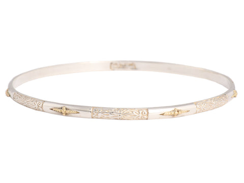 Konstantino Two-Tone Bangle