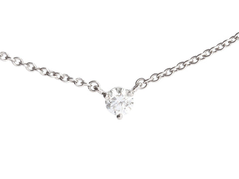 Kwiat Platinum 0.33-Carat Diamond Solitaire Pendant Necklace