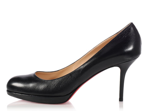Louboutin Black New Simple Pumps