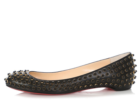 Christian Louboutin Black FifiCabo Flats