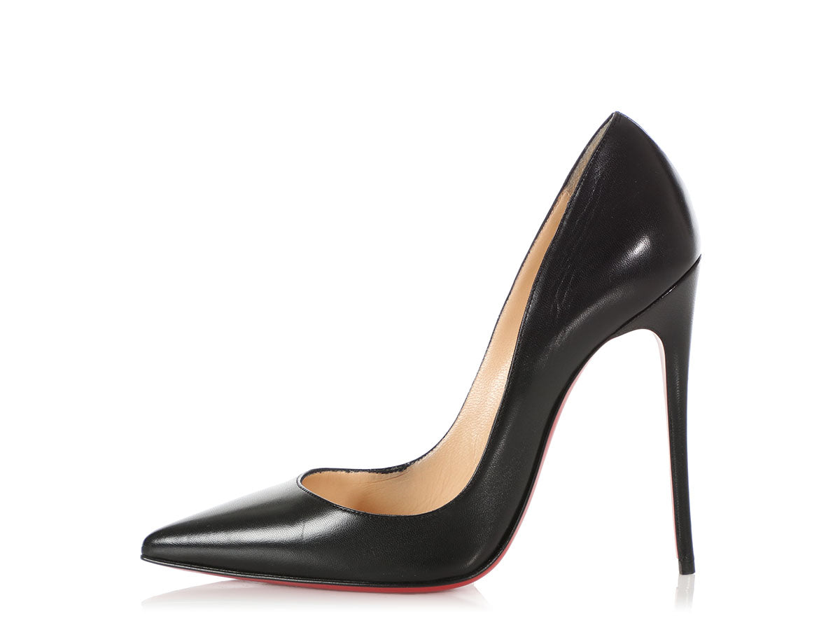 Christian Louboutin Black Pigalle Follies Pumps