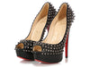 Christian Louboutin Black Spiked Lady Peeps