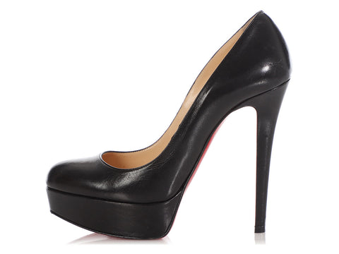 Christian Louboutin Black Platform Pumps