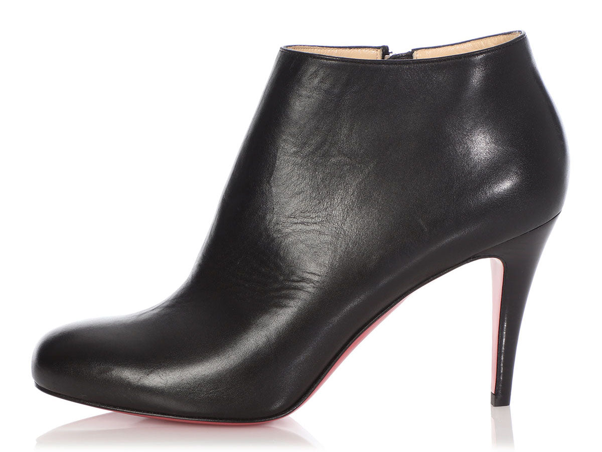 Christian Louboutin Black Belle Booties
