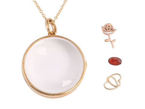 Loquet London Large Round Locket