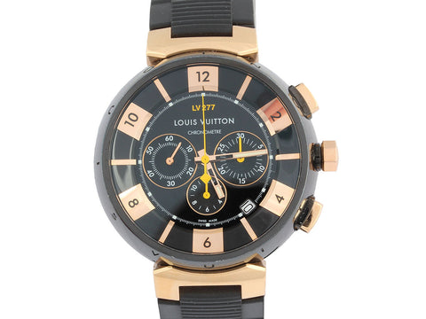 Louis Vuitton Men's Tambour Chronograph Watch