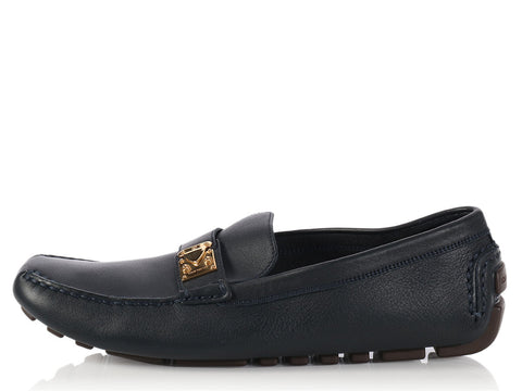 Louis Vuitton Black Lompok Driving Shoes