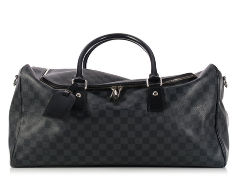 Louis Vuitton Graphite Damier Roadster 50 Duffel
