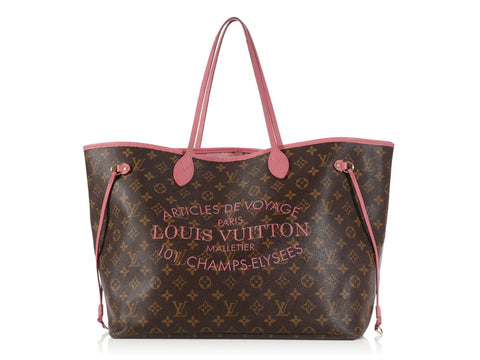 Louis Vuitton Rose Ikat Neverfull GM