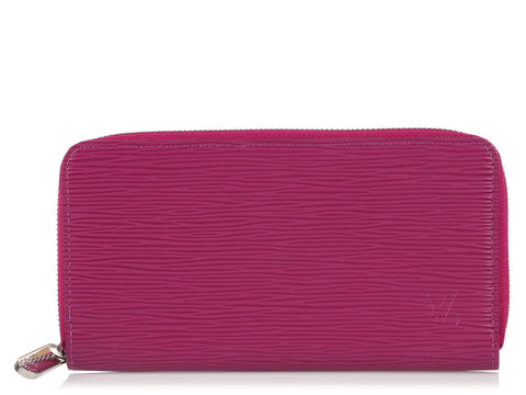 Louis Vuitton Fuchsia Epi Long Zippy Wallet