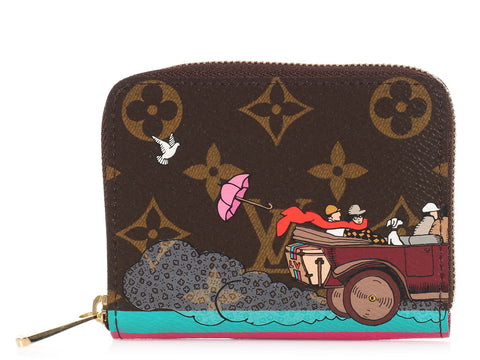 Louis Vuitton Car Zippy Coin Purse