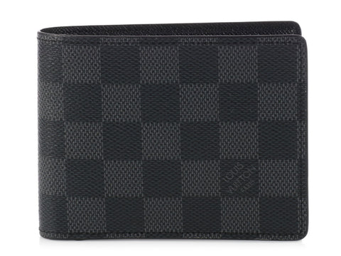 Louis Vuitton Damier Graphite Men's Multiple Wallet