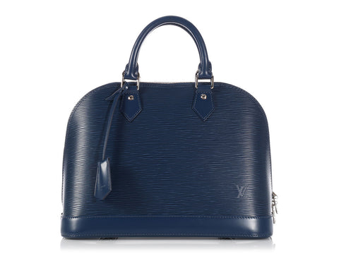 Louis Vuitton Indigo Epi Alma PM