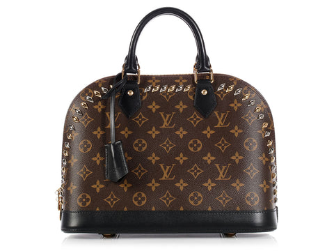 Louis Vuitton Monogram Metal Stones Alma PM
