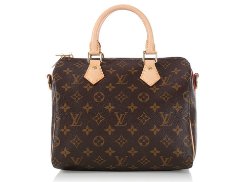 Louis Vuitton Monogram Speedy 25 Bandouliere