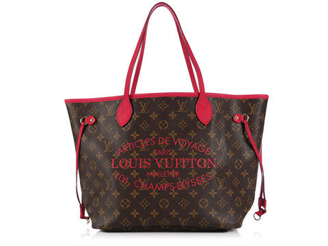 Louis Vuitton Indian Rose Monogram Ikat Neverfull MM