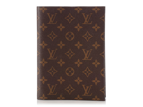 Louis Vuitton Monogram Notebook Cover MM