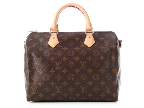 Louis Vuitton Monogram Speedy Bandoulière 30