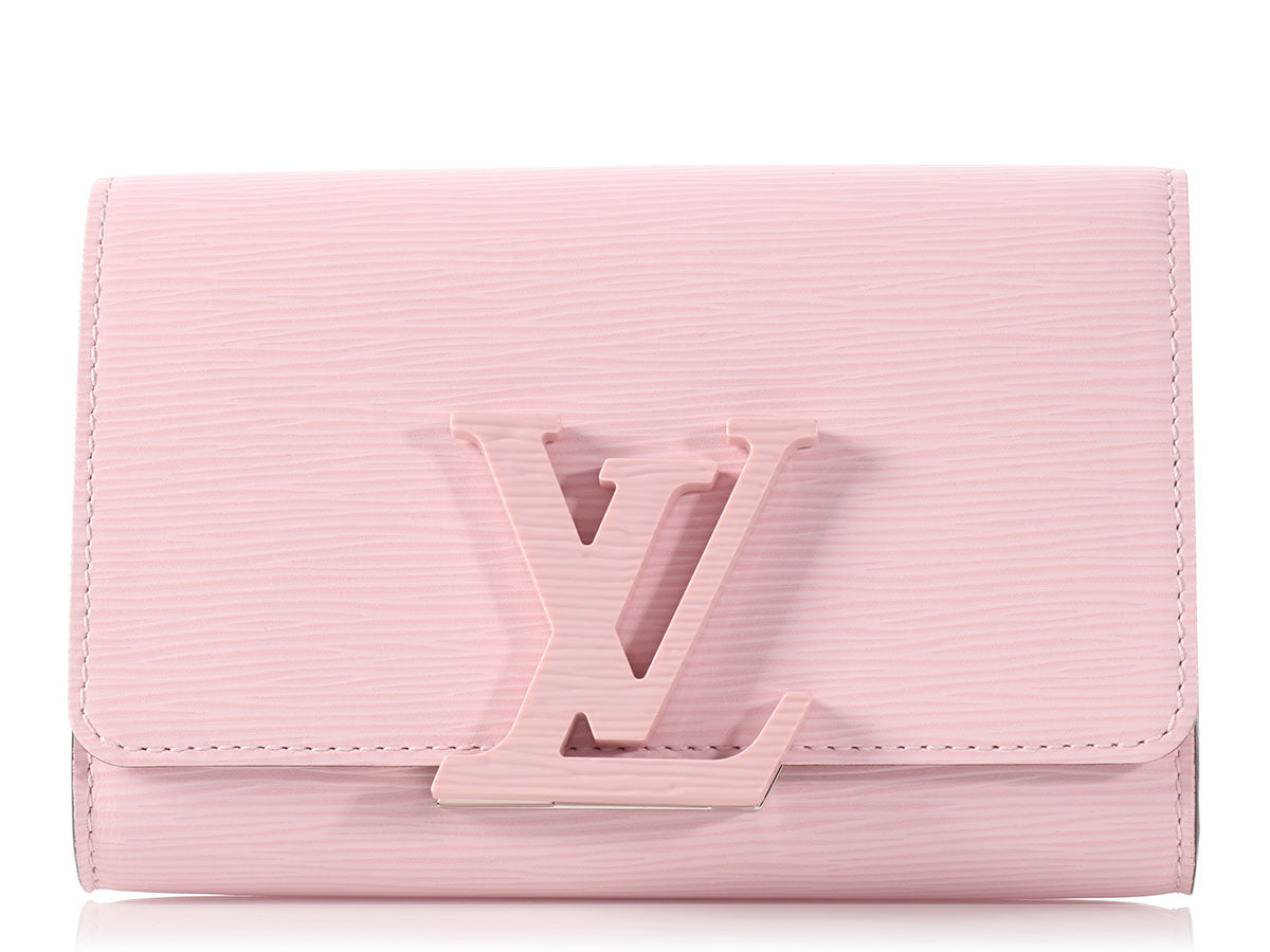 7b55de3aeb81 Louis Vuitton Pink Epi Louise PM