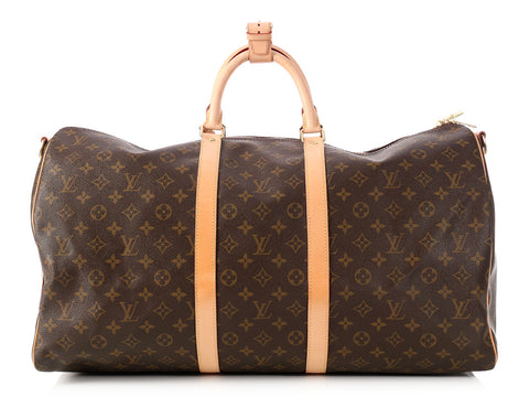 Louis Vuitton Monogrammed Keepall Bandoulière 55